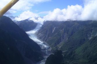 Fox Glacier2. West Coast. Malcolm and Stella. Feb 09