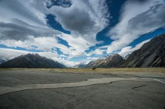 Mt Cook view from Airfield