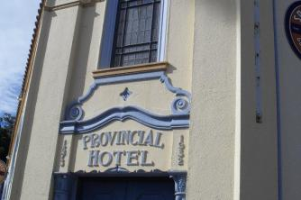 Napier is famous for Art Deco building style as with this Hotel2. Mel. Jan 10