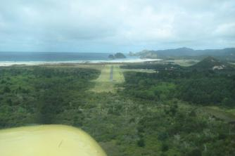 Short Final Approach2. Great Barrier Island. Jim and Linda. Mar 10